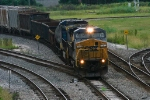 CSX train outbound